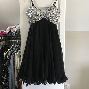 Beaded flowy dress